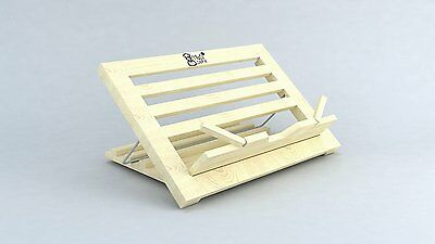 Recipe Book Holder Cookbook Stand Book Holders Reading Music Tablet Best Wood