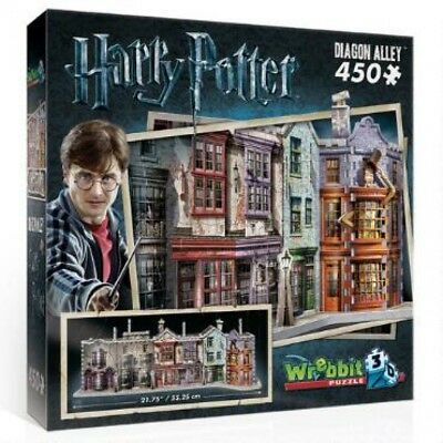 Harry Potter Hogwarts  Diagon Alley Wrebbit 3D Jigsaw Puzzle - Brand New!