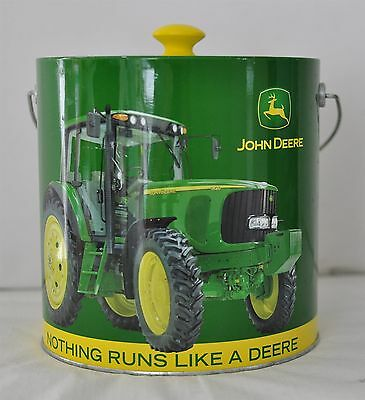 John Deere Round Ice Bucket Green & Yellow