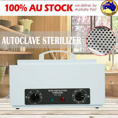UV Sterilizer UV Autoclave Cabinet for Nail Tool Tattoo Dental Medical Vets Lab