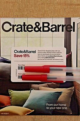 Crate And Barrel Double 15% Off Coupon Two Codes Expires 10/31/17