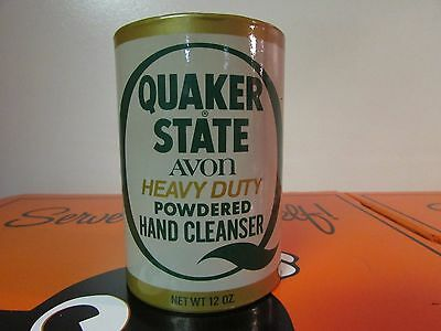 Vintage Quaker State Heavy Duty Powdered Hand Cleaner AVON
