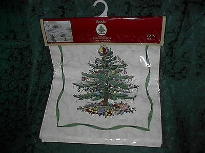 Spode Christmas Tree 72 Inch Table Runner-New
