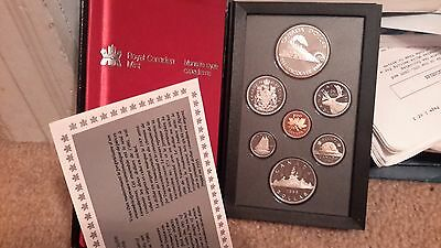 Absolutely Stunning 1986 Canada Double Dollar Proof Set