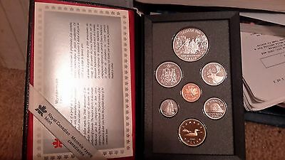Absolutely Stunning 1989 Canada Double Dollar Proof Set