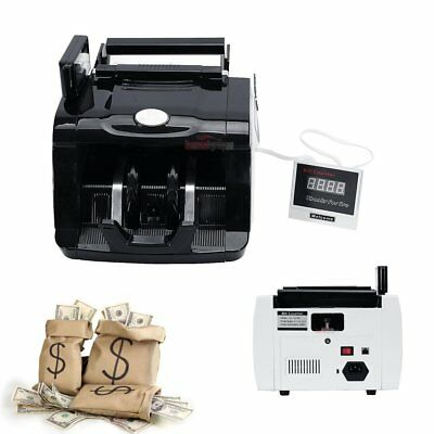 Commercial Money Bill Counter Bank Machine Currency Counting Uv Mg Counterfeit