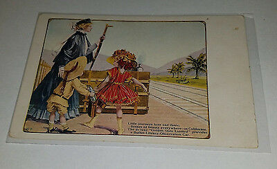 Rock Island Post Card Advertising Golden State Limited Train to California   348