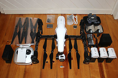 DJI Inspire 1 with 4 Batteries (TB48) & Extra Accessories
