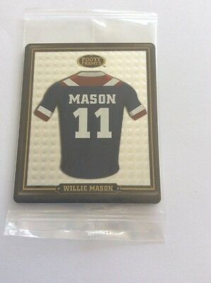 2009 Nrl Footy Frames Tazo #53 Sydney Roosters Willie Mason New & Sealed