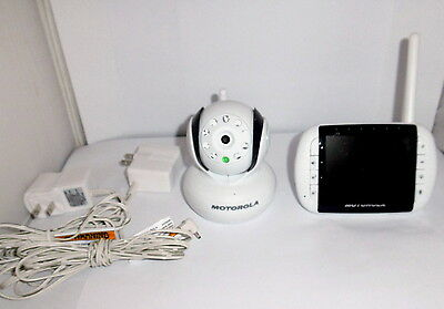 Motorola Wireless Baby Monitor With Camera #MBP34BU Excellent Working Condition