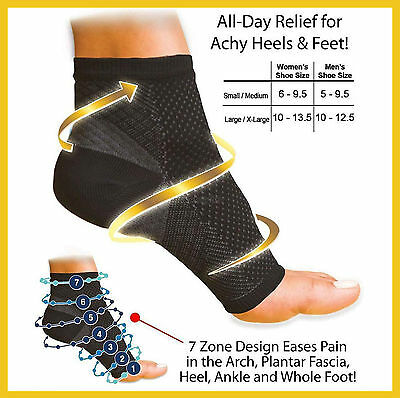 Anti-Fatigue Foot Angel Ankle-Foot Compression Socks Plantar Fasciitis relief