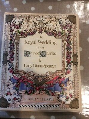 Stanley Gibbons Royal Wedding stamp album With Stamps
