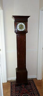 Free Del/Set Up 100Mls: Twin Weight Grandmother/Small Grandfather Longcase Clock