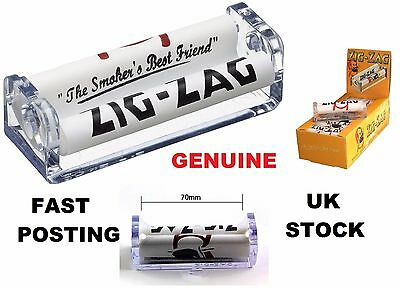 ZIG ZAG BRANDED TOBACCO ROLLING MACHINE Roll Automatic Cig/Fag Paper Hand Roller