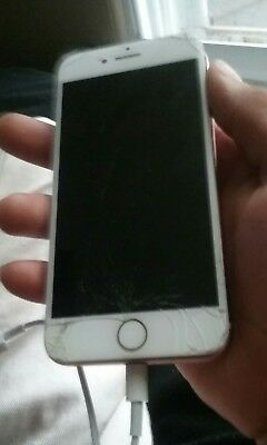 i phone 7 screen (cracked)****Home Button included still Works Fine