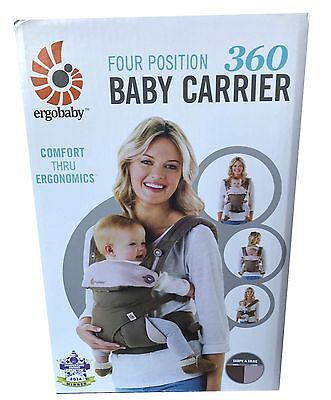 Ergobaby 360 Baby Carrier sling 4 ergo carry Positions: Taupe Lillac