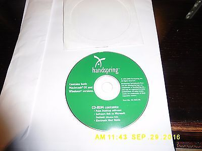 Handspring Visor Prism Software & Quick Reference Guide Documentation