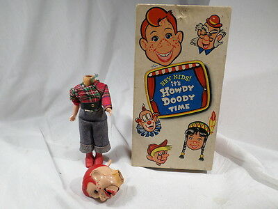 Beehler Boxed Howdy Doody ventriloquist doll