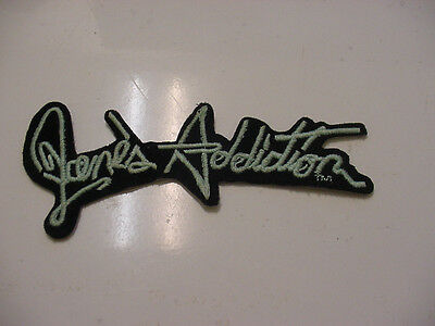 "Vintage Jane's Addiction Embroidered 80's Rock-Iron On Patch- 4.75"" Licensed"