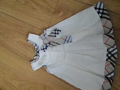 Baby Girls Authentic Burberry Dress 6 to 9 months