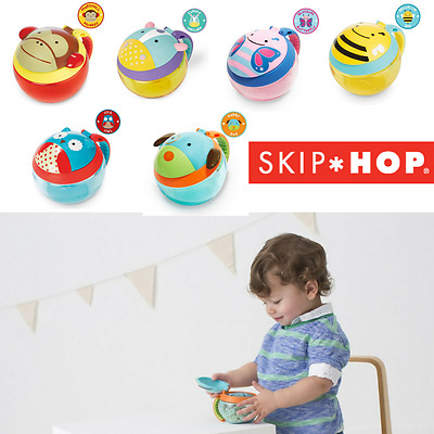 SKIP HOP ZOO COLLECTION SNACK CUP Baby / Toddler Feeding No Spill