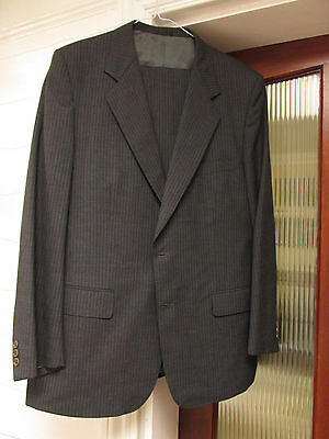 Gieves & Hawkes luxury wool suit vintage / turnups M