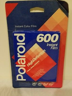 Polaroid 600 Instant Film High Definition/Instant Color Film