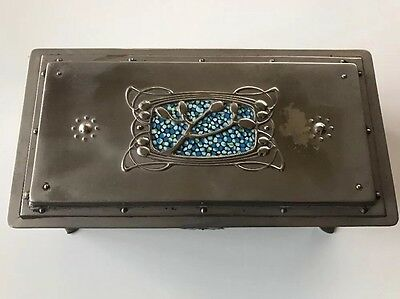 A Fine And Rare English Arts & Crafts Box Casket