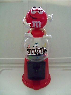 M&M Red Gumball candy dispenser bank