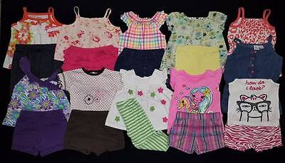 20 pc. Baby Girl 12 Months Summer Outfits Clothes Lot