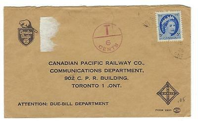 1956? Canada Cover - Canadian Pacific Railway Railroad (QQ94)