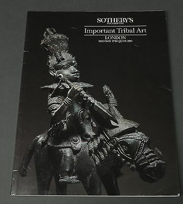 Sotheby's Important Tribal Art, African, London June 1991 with prices
