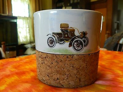 F.T.D 1983 flower pot with cock bottom Oldsmobile curved dash 1901 1906 portugal
