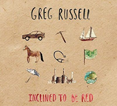 Greg Russell - Inclined To Be Red [CD]