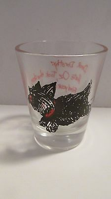 "Wizard Of Oz - Shot Glass With Funny Toto - Dorothy: ""hate Oz, Took The Shoes"""