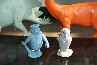 Vintage Marx Flintstones Hunting Party Fred and Barney Figures Only