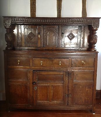 17th Century And Later Oak Press/Court Cupboard