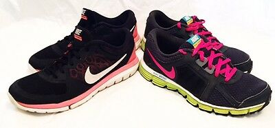 Nike Shoes Girls Size 6 709021 Nike Dual Fusion Shoes Nike Flex Shoes LOT 2 PAIR