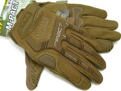 MECHANIX WEAR Size Small S Coyote Tan M-PACT Tactical Gloves New! MPT-72-008