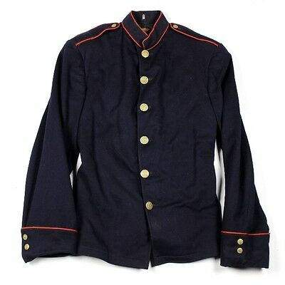 Wwi Us Army Artillery M1902 M02 Dress Blue Coat Jacket Tunic Arty Red Piping