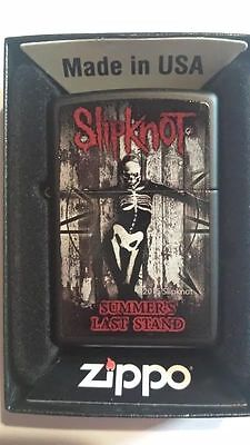 2015 Slipknot Zippo Lighter  Summers Last Stand Limited Edition  New Sealed