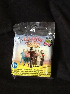 Wendy's CHARLIE AND THE CHOCOLATE FACTORY Kid's Meal Toy - GO FISH - NEW