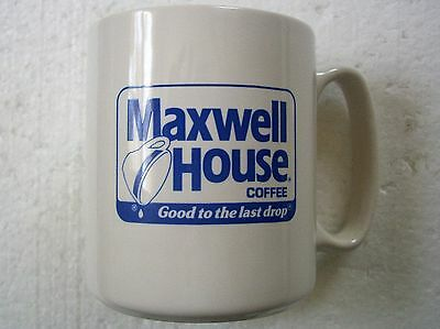 Rare Vintage Maxwell House Coffee Cup Mug Made In The USA Good To The Last Drop