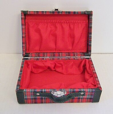 American Girl MOLLY PLAID SUITCASE