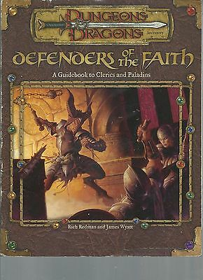Dungeons and Dragons Defenders of the Faith Guidebook to Clerics and Paladins
