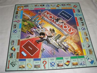 Monopoly Board Game-Board Only-The Australian Here And Now Edition