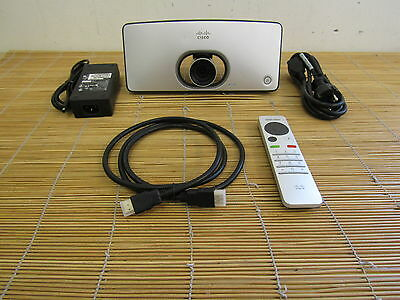 Cisco CTS-SX10-K9 TelePresence  TTC7-22 codec/camera Remote  with signs of use!!
