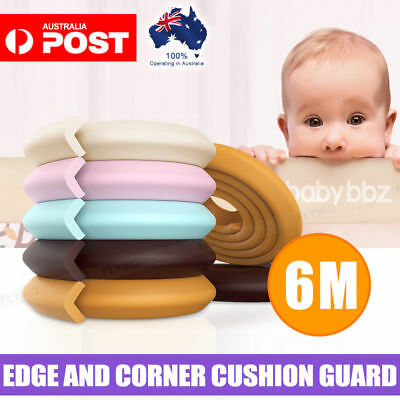 Baby Proofing Safety Table Furniture Edge Bumper Guard Soft Foam Protector
