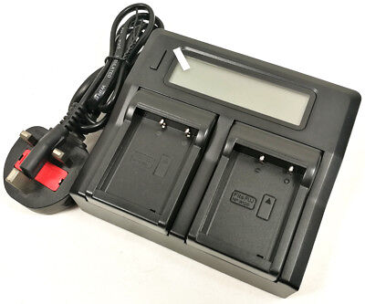 LCD-Display Quick Battery Charger For Fuji BC-W126 NP-W126 HS30EXR X-Pro1 X-Pro2