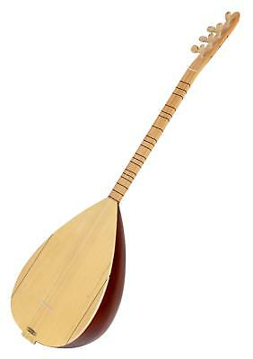 Saz Traditional Baglama Guitar Turkish Oriental String Instrument 100cm Mahogany